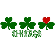 Design ~ Chicago Shamrock Heart