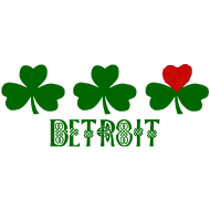 Design ~ Detroit Shamrock Heart