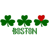 Design ~ Boston Shamrock Heart