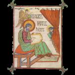 Saint Matthew; Lindisfarne Gospels