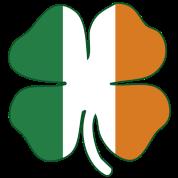 Flag of Ireland Shamrock
