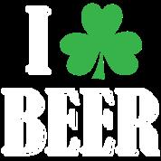I Shamrock Beer - Green