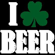 I Shamrock Beer - Hunter