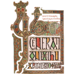 Lindisfarne Gospels; Introduction to Gospel of Matthew
