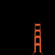 San Francisco Block Golden Gate
