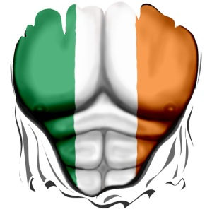 Ireland Flag Ripped Muscles