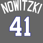Nowitzki 41 Back