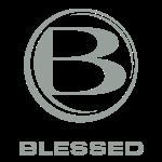 Blessed Logo Square OWhite