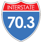 Interstate 70.3