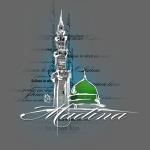Masjid Nabawi Black