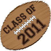 class of 2011 football
