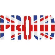 PROUD Britain Flag, British Flag, Union Jack, UK F