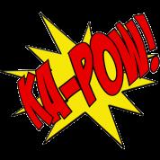 Ka-Pow comic book sfx