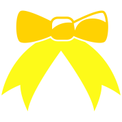 pretty simple ribbon bow