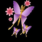 Soft Purple Butterfly