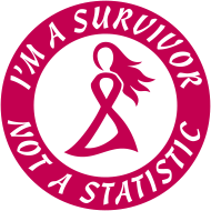 Design ~ Breast Cancer Survivor Not Statistic Pink Ribbon