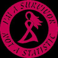 Design ~ Breast Cancer Survivor Not Statistic Pink Ribbon