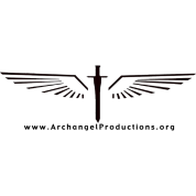 Black Archangel Productions wings and sword logo
