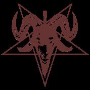 Satanic Goat Head with Pentagram