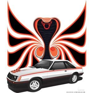1980 Cobra in White