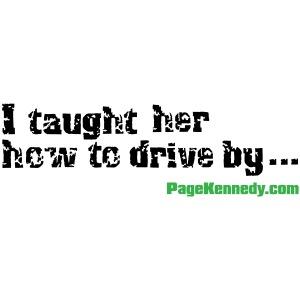 I taught