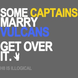 some captains marry vulcans black shirt