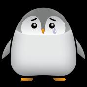 Baby Penguin Sad