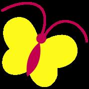 funky antennae butterfly