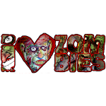 i love zombies dark