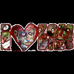 i love zombies dark