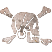 Jolly Roger - Stitched
