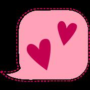 i talk love hearts speak