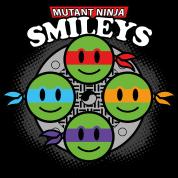 Mutant Ninja Smileys V1 (dd print)
