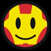 Iron Smiley Man / Icon 3c