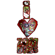 i love zombies -tall