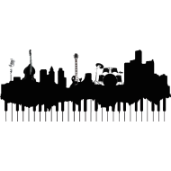 Design ~ Detroit Music Skyline