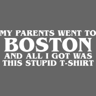 Design ~ Parents went to Boston