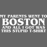 Design ~ Parents went to Boston