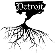 Design ~ Detroit Map with Roots