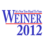 It's Not Too Hard To Vote Weiner 2012