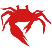 simple sand crab