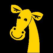 giraffe head cute!