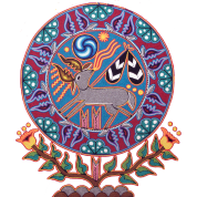 Native Huichol Peyote Deer