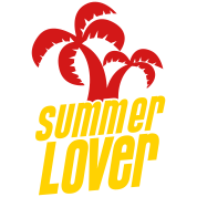 summer lover with palm tree