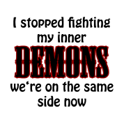 I stopped fighting my inner demons
