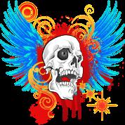 New Biker Demon Hunter Death angel no text
