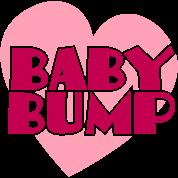 baby bump love heart