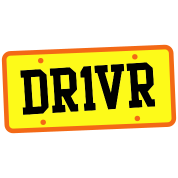 dr1ver DRIVER licence plate