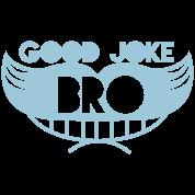 good joke bro grinning moustache man