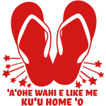 Hawaiian - Ruby Slippahs